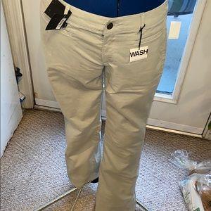 gap 1969 Denim washed khaki size6 NWT